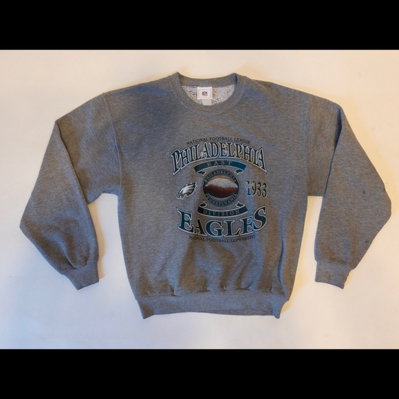 d6d2625f 🏈Vintage 80s Philadelphia Eagles Crewneck SZ L